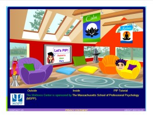 PIP room in virtual Wellness Center