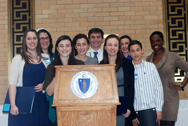 Teen Leaders in Suicide Prevention recognized at State House-1
